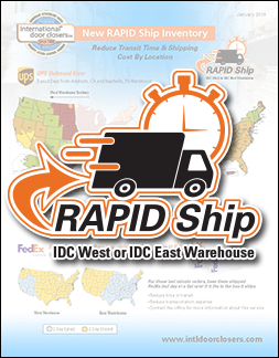 IDC RAPID Ship Catalog
